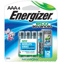 EcoAdvanced XR92BP-4 Alkaline Battery