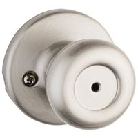 DOOR KNOB PRIVACY SATIN NICKEL