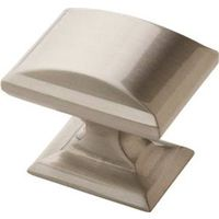 KNOB 1-1/4 INCH SATIN NICKEL