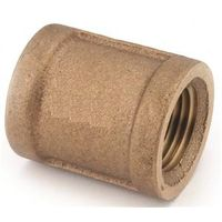 Anderson Metal 738103-02 Brass Pipe Coupling