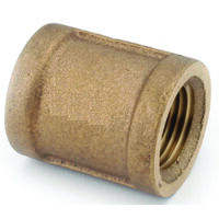 Low Lead Brass Coupling, 1/8""