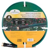 "Medium Duty 4 Ply Garden Hose, 5/8"" x 25'"