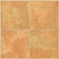 Vinyl Floor Tile, Beige Inlay