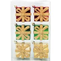 ORNAMENT 60MM GIFTBOX 6PC