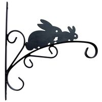 "Planter Bracket, 11"" Rabbit"