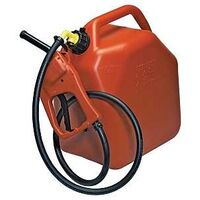 Flo N Go Max Flo Siphon & Gas Can Combo, Red