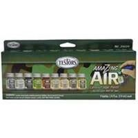 Amazing Air Airbrush Paint Set Refill, Camouflage