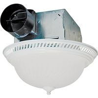 Air King DRLC703 Decorative Round Exhaust Fan/Light