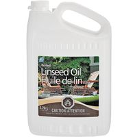 OIL LINSEED BOILED INTR 3.78L