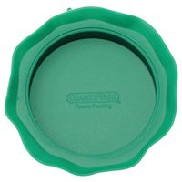 JAR TOP WIDEMOUTH SILICONE GRN