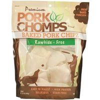 TREAT BAKED PORK CHIPZ 12OZ