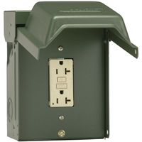 POWER OUTLET BACKYD 1-GFI REC