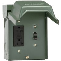 POWER OUTLET 1SWITCH/1GFI RECP