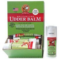 UDDER BALM DISPLAY 3OZ TUBES