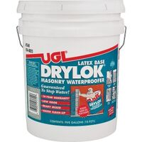 Drylok Latex Paint Masonry Sealer, 5 Gal Gray