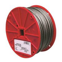 CABLE 1/8IN 7X7 SS 250FT REEL