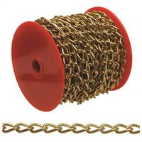 CHAIN NO70 TW/LK BRASSPLT 82FT