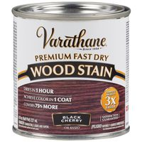 STAIN WOOD INT BLKCHERRY 1/2PT