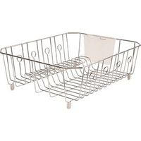 Rubbermaid 6032ARCHROM Large Wire Dish Drainer