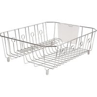 Chrome Dish Drainer, Large
