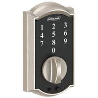 DEADBOLT TOUCH SATIN NICKEL
