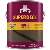 STAIN SOLID CF LODGE BROWN 1G
