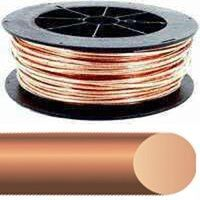8 Solid x 500' Bare Copper Wire