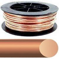 6 Solid 315' Bare Copper Single Wire