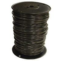 10 Black Solid x 500&#39; Thin Single Wire 