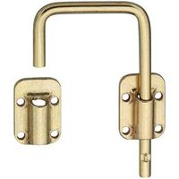 SLIDING DR LATCH 2-1/2IN BRS
