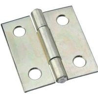 HINGE NRW ZINC PLATED 1-1/2IN