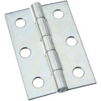 NARROW HINGES 2-1/2IN ZN PLT