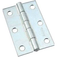 NARROW HINGES 3IN ZN PLT
