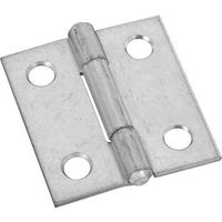 NARROW HINGES 1-1/2IN ZN PLT