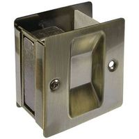 LATCH/PULL POCKET DR ANT BRASS