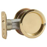 LATCH/PULL POCKET DR BRASS