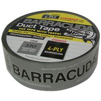 TAPE DUCT SILV/BLK 1.88X60YD