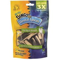 DINGO DENTAL MINI SPIRALS 21PK
