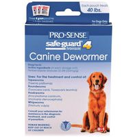 DEWORMER DOG SAFEGUARD 4G/40LB