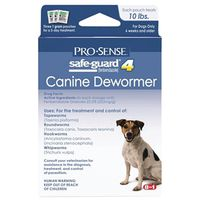DEWORMER DOG SAFEGUARD 1G/10LB