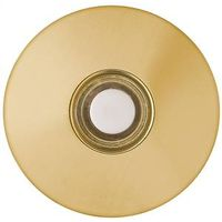 Carlon DH1260L Round Lighted Rim Stucco Push Button