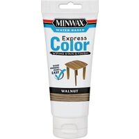 Water Based Express Color Wood Stain & Finish, 6 oz Walnut