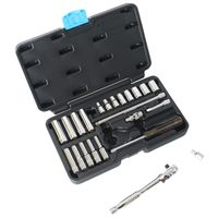 SOCKET SET 24PC 1/4DR MET MC