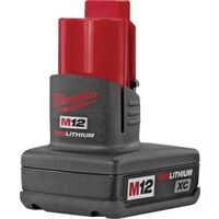 Milwaukee Battery Pack, 12V