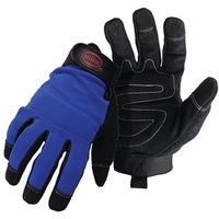 GLOVE MECHANIC SYN LEATHER LRG