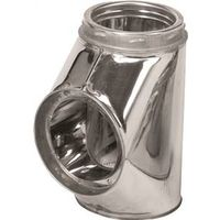 Selkirk 208100 Insulated Chimney Tee with Tee Cap