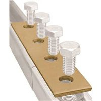Superstrut 200 Flat Straight Bracket Splice Plate 7-1/4 in L