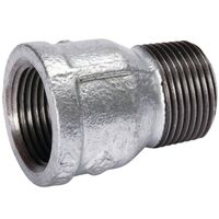 Galvanized Pipe Fitting Extension Piece, 3/4""