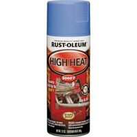 Rustoleum High Heat Automotive Spray Paint, 12 oz Blue