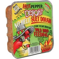 C and S Products Suet Dough Hot Pepper Delight, 11.75 Ounces